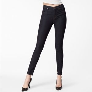J Brand Maria After Dark High Rise Skinny Jeans 32